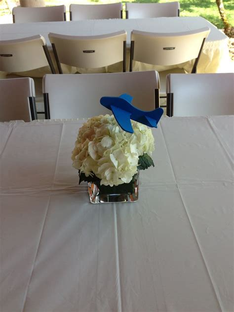 airplane party centerpiece party pinterest