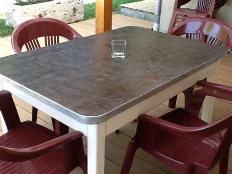 relooker table de cuisine toutes les id 233 es d 233 co en b 233 ton cir 233 224 faire soi m 234 me