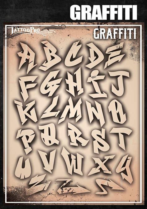 graffiti letters tattoo pro stencils