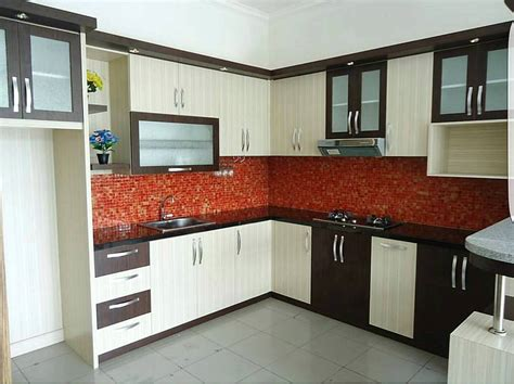 Kitchen Set by 95 Kitchen Set Minimalis Sederhana Modern Terbaru Dekor
