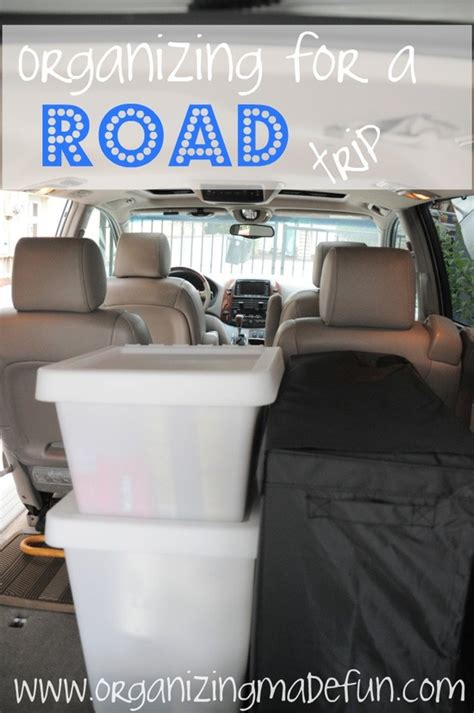 travel accessory stuff organizing for a road trip must do lots of great ideas on this blog