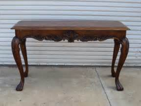 Vintage Console Table American Sofa Table Walnut Console Table Vintage Furniture