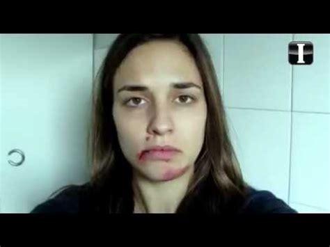 imagenes de mujeres otoñales video sobre mujer maltratada conmociona en la red youtube