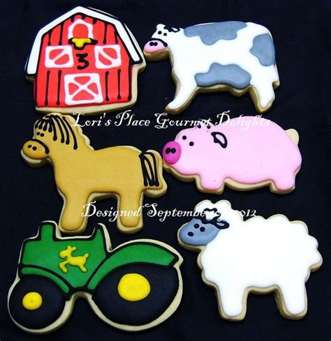 1000 images about farm animal cookies on
