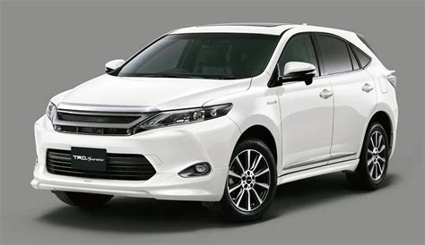 new sports speedicars toyota harrier 2014 toyota harrier modellista and harrier trd sportivo