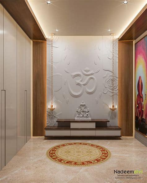 pooja room design  behance    images pooja