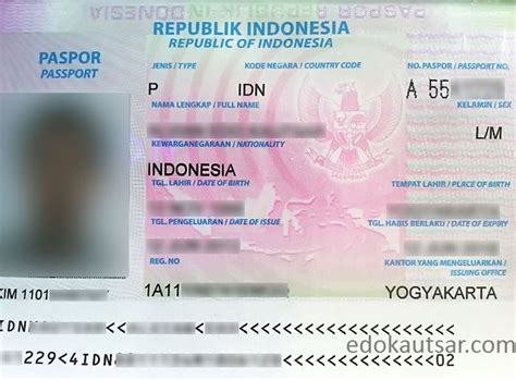 cara membuat paspor visa dan kitas cara pembuatan paspor di kantor imigrasi kelas i