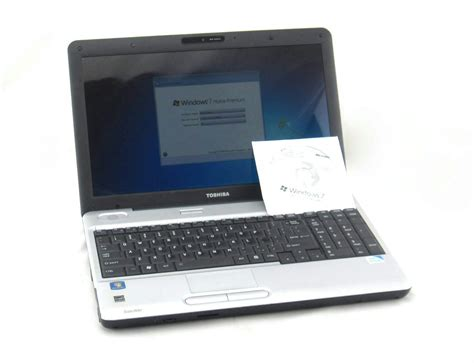 toshiba satellite l505 dual t4400 2 2ghz 4gb ram 320gb hdd windows 7 laptop ebay