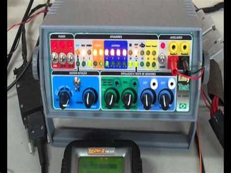 simulador es de prueba ecu easy test dc 4000 simulador de modulos testando eec5