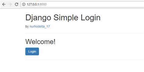 django easy tutorial python django simple login and logout free source code