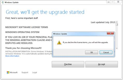 hmr aborted because is not accepted microsoft strikes again how to not upgrade to windows 10