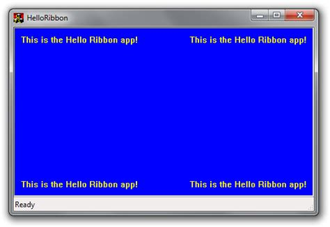 ui layout initialization error windows 7 goodies in c introduction to the ribbon