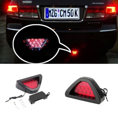 f1 style car auto led brake stop lights ls blinking