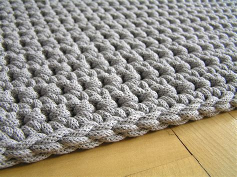 crochet rope rug cotton rope rug tutorial roselawnlutheran