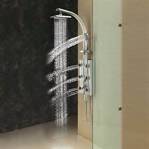 20 20cm wall mount rotatable shower panel faucet with
