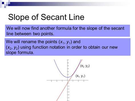 slope of secant line tangent lines section ppt video online download