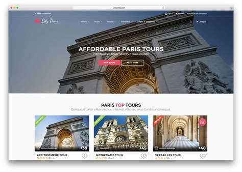 html templates for tourism website free download top 20 creative html5 travel website templates 2017 colorlib
