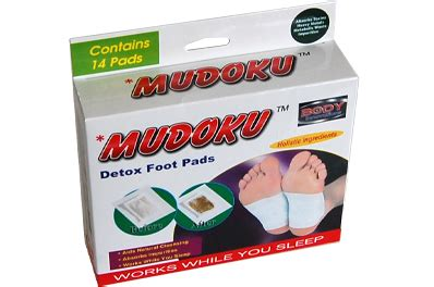 Mudoku Detox Foot Pads by Mudoku Detox Foot Pads 14 Pads Based On Ancient