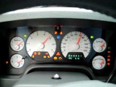 running a gauge check on a 2008 dodge ram 1500 hemi youtube
