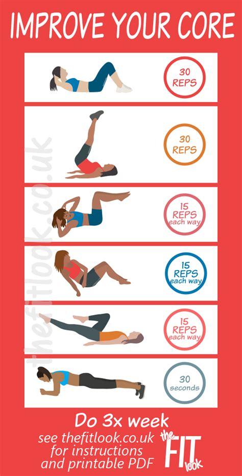 ab exercises quick  easy circuit  improve  core