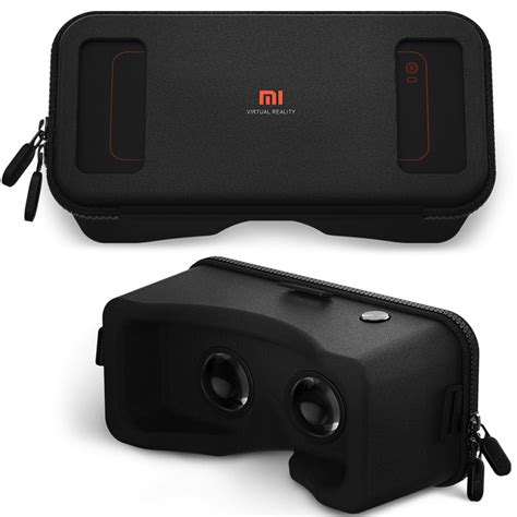 Diskon Xiaomi Vr 2 3d Glass Kacamata Vr Headset Remote original xiaomi vr headset mi box black gear cardboard vr reality goggles