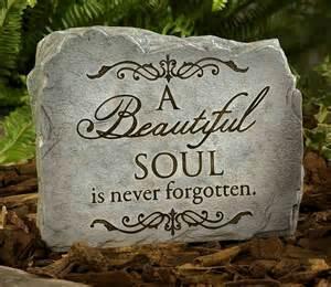 Memorial Garden Rocks A Beautiful Soul Memorial Garden
