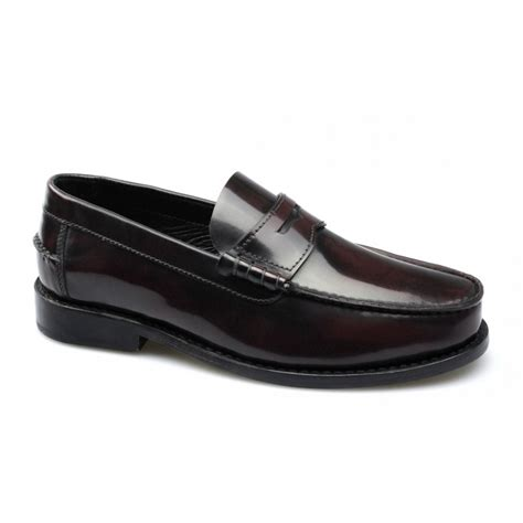 mens oxblood loafers lucini mens leather loafers shoes oxblood buy
