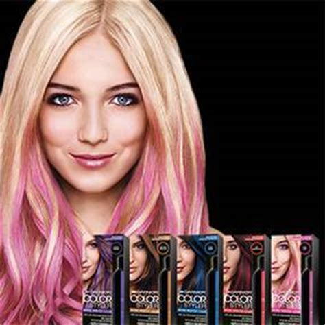 photos of washout hair dye garnier color styler intense wash out pink pop walgreens