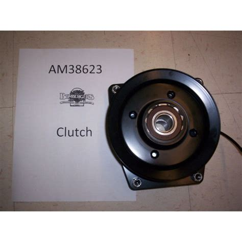 deere electric pto clutch car interior design