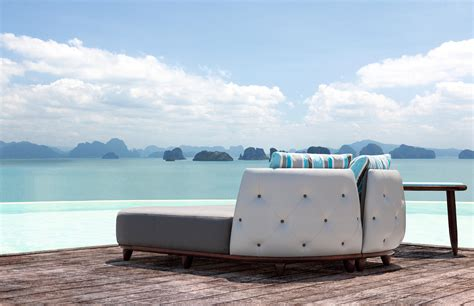outdoor liegen 1730 armchair armchairs from tecni architonic