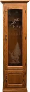wood gun cabinet 8 gun cabinet
