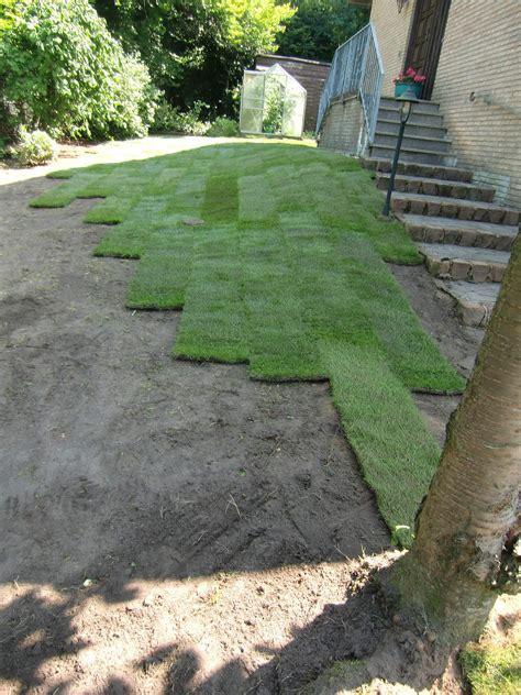 Pflege Rollrasen Nach Verlegen 4207 by Rollrasen Osnabr 252 Ck Garten Landschaftsbau Osnabr 252 Ck