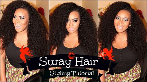 no part hairstyles the no part hair style hair world no part sew in styling tutorial with sway hair kinky