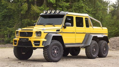 mercedes benz 6x6 mercedes benz g63 amg 6x6 by mansory hiconsumption