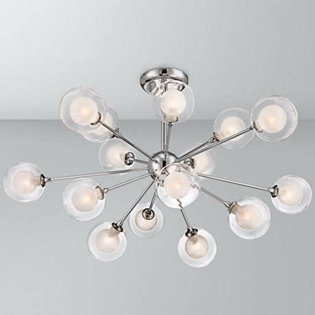 possini design glass sphere 15 light ceiling light