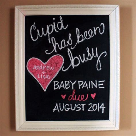 1000 ideas about chalkboard pregnancy announcements on