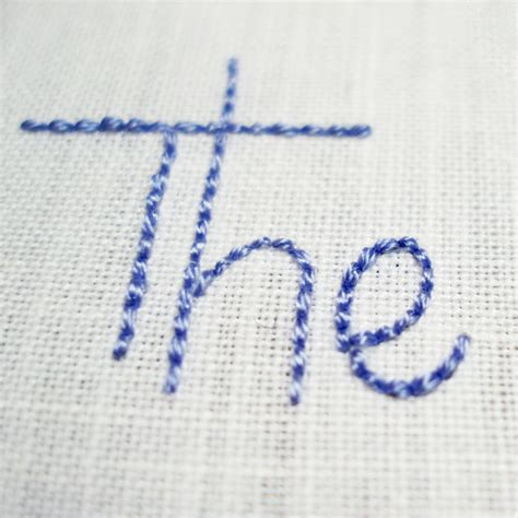how to do embroidery with learn how to embroider your handwriting