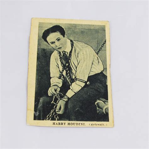 Postcard Vintage Sleep Kartu Pos Murah houdini boy s cinema card 1922 magic collectibles