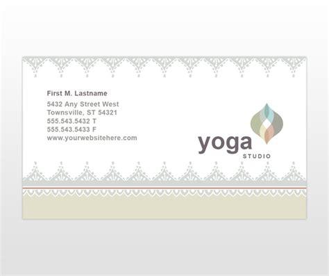 pilates business cards templates pilates studio business card templates