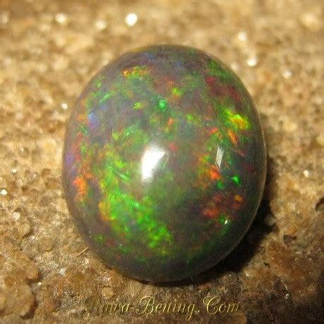 Batu Multi Color batu mulia black opal 1 90 carat multi color flash play
