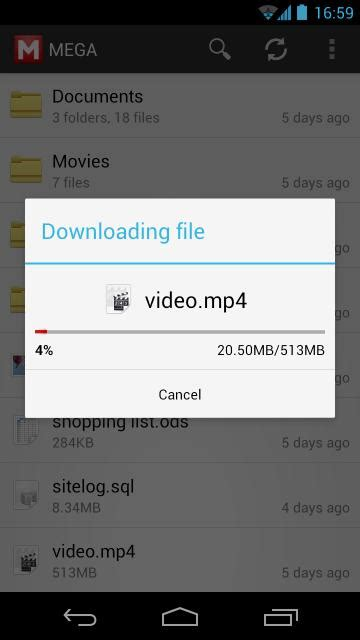 android file host app tools 2 3 mega for android with file upload sync and other features