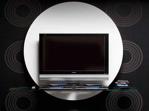 contemporary  black white tv stands  pacini