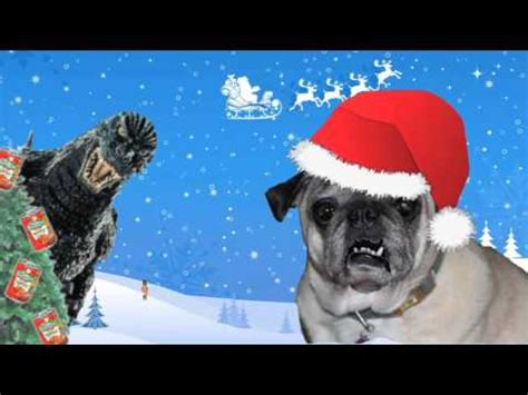 the pug song max the pug tries to sing a song with a nutcracker but it doesn t go all