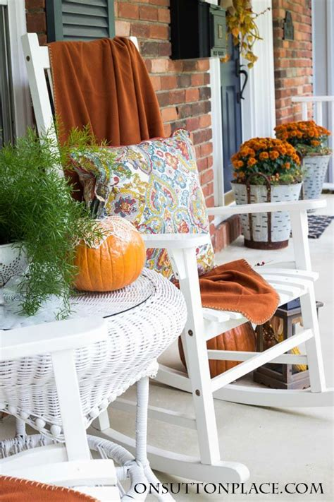 6 pretty fall ideas of home