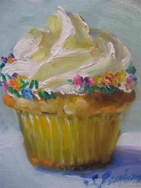 cake painting susan jenkins morning paintings cup cake