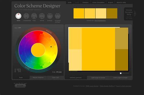 color scheme designer 3 les color scheme zakstudio