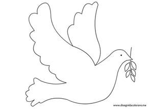 dove coloring page a dove free colouring pages