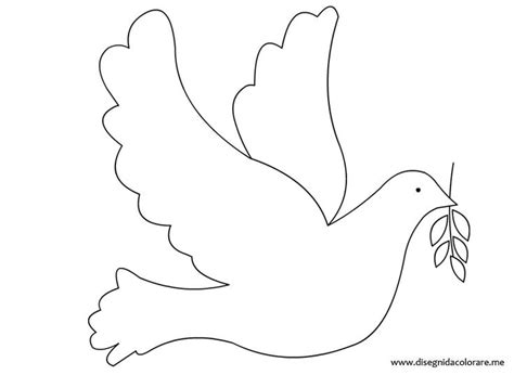 a dove free colouring pages