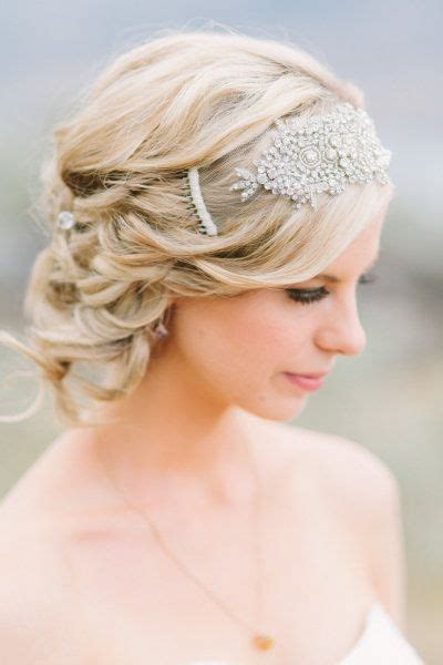 gatsby short hairstyle 50 fabulous bridal hairstyles for short hair wedding