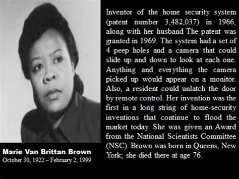 inventor of the home security system american